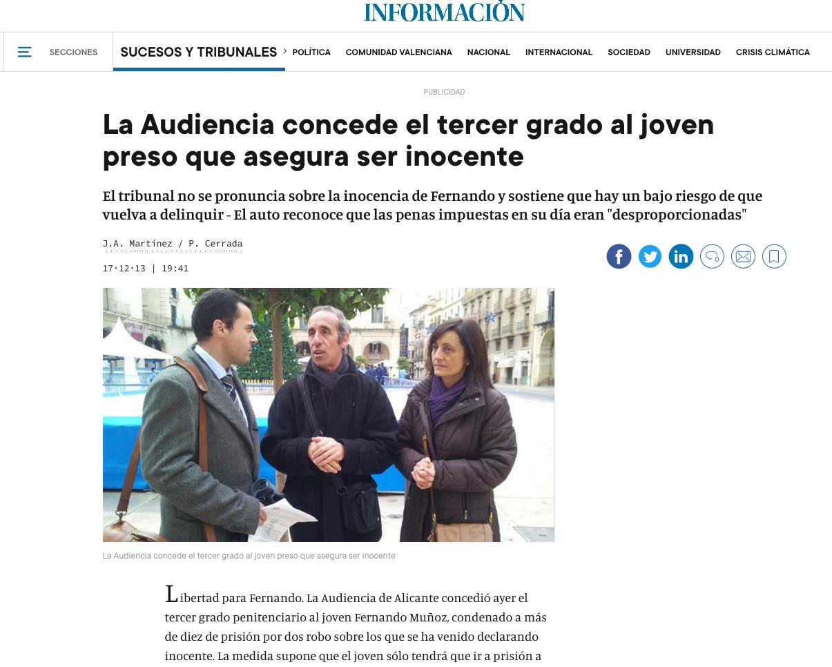 Noticia caso ganado Santiago Talavera Abogados